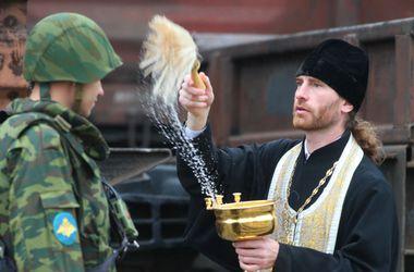 Из Днепропетровска в зону АТО пошлют священников
