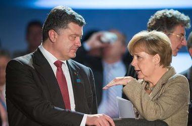 В ходе саммита НАТО Порошенко провел переговоры с Меркель