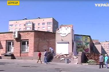 В Донецке за последние сутки в результате артобстрела погибли 5 человек