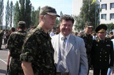 Жена Порошенко подтвердила, что ее старший сын воюет в зоне АТО
