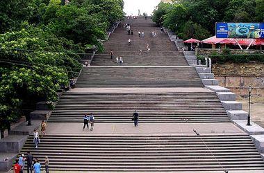 В Ильичевске Одесской области появилась копия Потемкинской лестницы