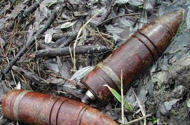 В Кривом Роге нашли артиллерийский снаряд времен Второй мировой войны