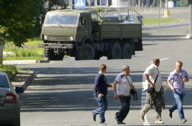 Звуки залпов слышны по всему  Донецку  - горсовет