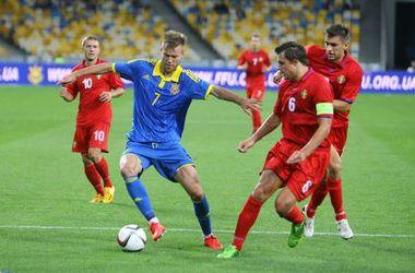 Онлайн матча Украина - Словакия