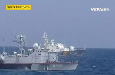 """В северо-западной части Черного моря - начались военные учения """"Си-Бриз"""""""