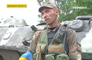 Украинские бойцы укрепляют свои позиции в окрестностях Дебальцево