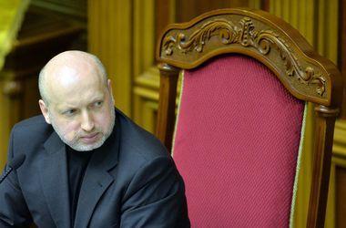 Если мирный план в Донбассе провалится, будет введено военное положение - Турчинов
