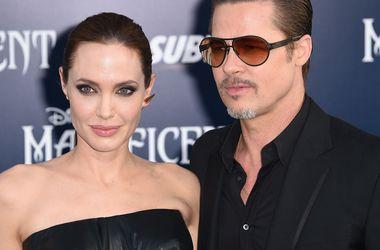 Британский художник преподнес Джоли и Питту необычную картину