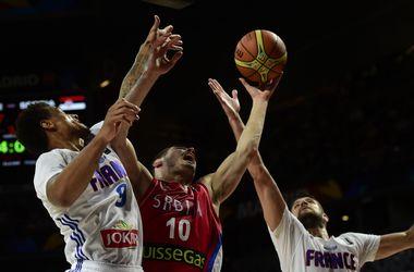 Сборная Сербии вышла в финал ЧМ по баскетболу