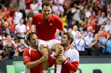 В финале Кубка Дэвиса сыграют Франция и Швейцария