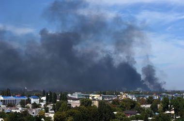 В Донецке утром слышны звуки залпов