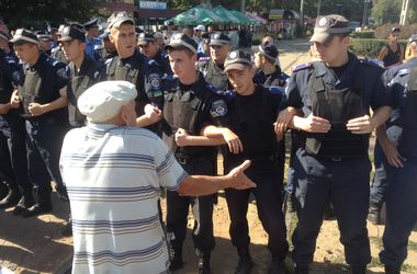 В Одессе произошла потасовка между антимайданом и милицией
