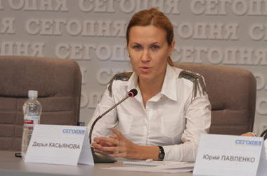"""Дарья Касьянова: """"Мы эвакуировали из Горловки женщину, которая родила в подвале"""""""