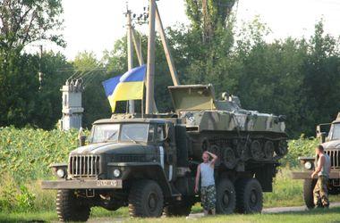 """Украинские солдаты под Донецком: """"По нам стреляют из минометов"""""""