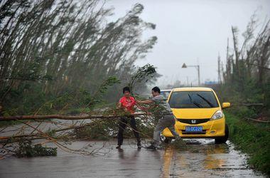 """Почти 6 млн китайцев пострадали от тайфуна """"Калмэджи"""""""