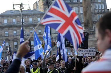 Объявлены первые данные экзит-полов референдума в Шотландии