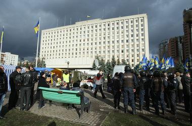 """В Киеве """"заминировали"""" здание, в котором проходит сессия Киеврады"""