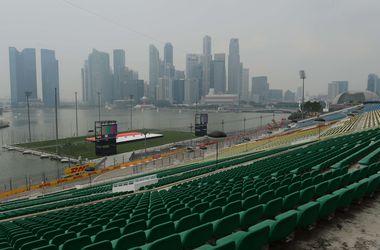 Гран-при Сингапура под угрозой срыва из-за смога
