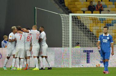 """""""Днепр"""" стартует в групповом этапе Лиги Европы с поражения"""