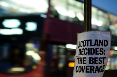 Жители шотландского округа Данди первыми поддержали отсоединение