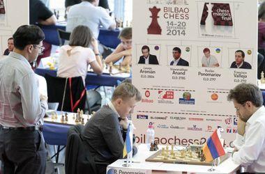 Пономарев сыграл вничью с Ароняном на шахматном турнире в Бильбао