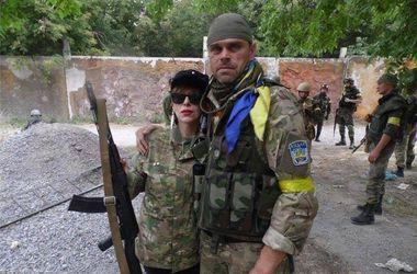 Полковник грузинской армии приехала в зону АТО обучать добровольцев