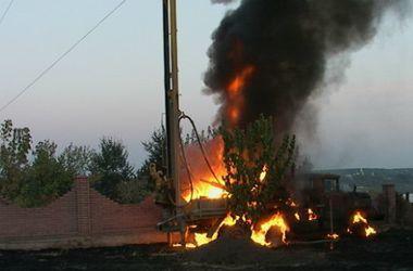 В Киеве заживо сгорел рабочий