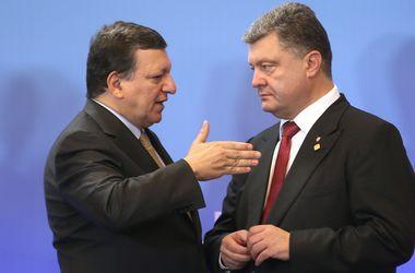 Порошенко и Баррозу встретятся в Нью-Йорке на следующей неделе
