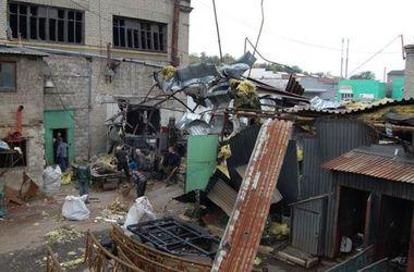 В Донецке снаряды разнесли кузницу