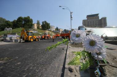 Треть киевлян выступила против переименования Институтской