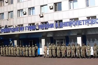 """В зону АТО отправляют милицейский батальон """"Кривбасс"""""""