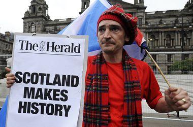 """Шотландцы сказали """"нет"""" независимости"""