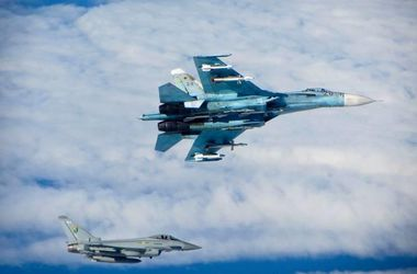 Британские истребители вылетали на перехват бомбардировщиков РФ
