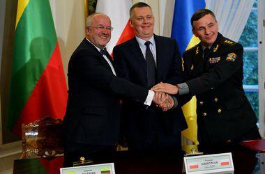 Подписано соглашение о создании совместной литовско-польско-украинской бригады