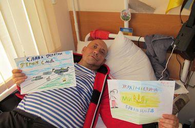 Харьковчане продолжают помогать раненым в ходе АТО бойцам