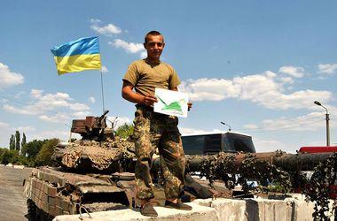 Дети Киевщины передали в зону АТО три тысячи своих рисунков