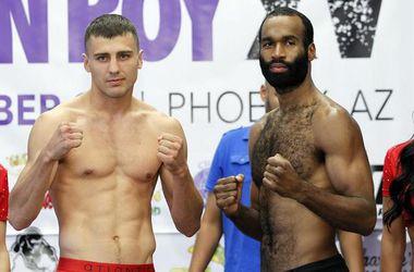 Украинский боксер Гвоздик одержал третью победу в профессионалах