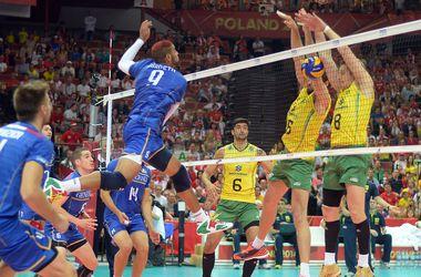 Сборная Бразилии вышла в финал чемпионата мира по волейболу