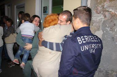 """Одесские моряки вернулись домой из """"ливанского плена"""""""