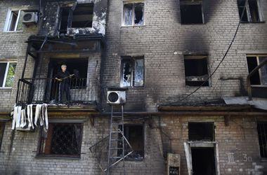 В Донецке снаряды попали в газопроводы, утром слышны взрывы