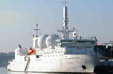 Французский корабль-разведчик зашел в Черное море