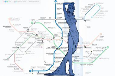 """Художница, """"оживившая"""" киевское метро: Работы я создала за два дня"""