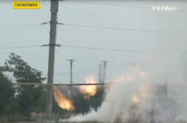 Террористы  обстреляли поселок Талаковка   вблизи  Мариуполя