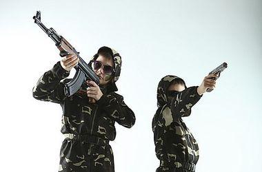 В Киеве – мода на камуфляж для детей