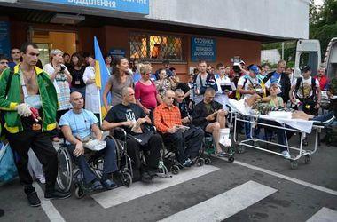 Украинских бойцов будут лечить заграницей