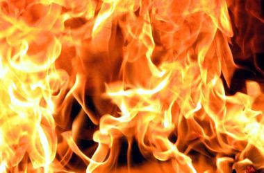 В Кривом Роге мужчина едва не сгорел заживо