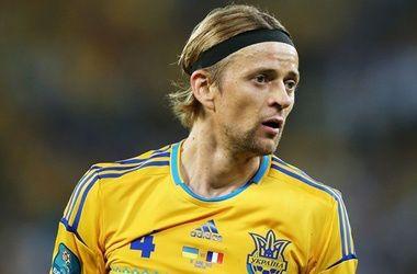 Тимощук восстановился после травмы, полученной в матче против Молдавии
