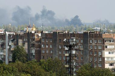 В Донецке слышны одиночные залпы