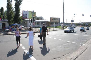 В Киеве рано утром под колесами авто погиб мужчина