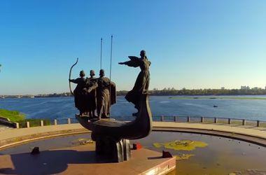 Волшебный Киев с высоты птичьего полета